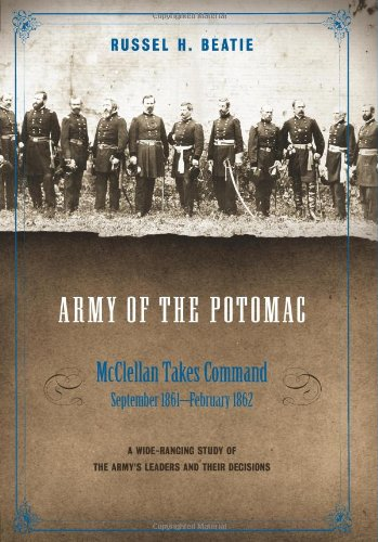 9780306812521: Army of the Potomac, Volume II: McClellan Takes Command, September 1861-February 1862