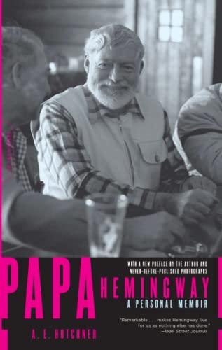 9780306814273: Papa Hemingway: A Personal Memoir