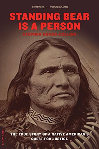 9780306814419: Standing Bear Is a Person: The True Story of a Native American's Quest for Justice