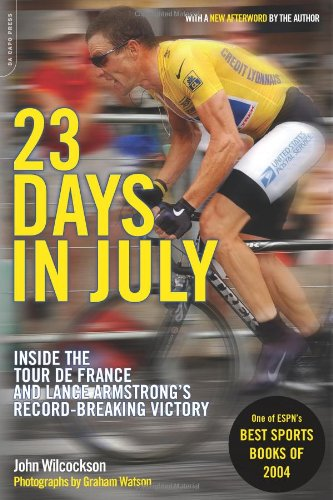 23 Days in July: Inside the Tour: John Wilcockson