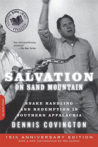 9780306818363: Salvation on Sand Mountain: Snake Handling and Redemption in Southern Appalachia