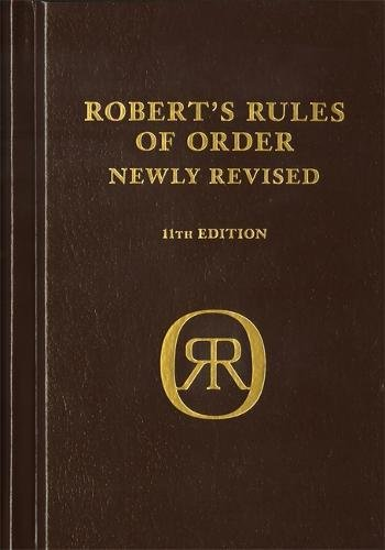 9780306820229: Robert's Rules of Order Newly Revised, deluxe 11th edition