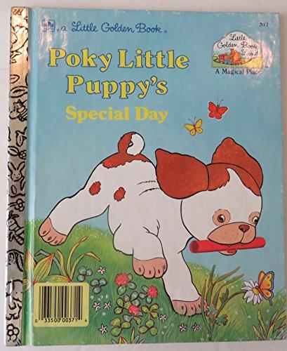 9780307000415: Poky Little Puppy's Special Day (Little Golden Book - Little Golden Book Land Series, #GBL371)