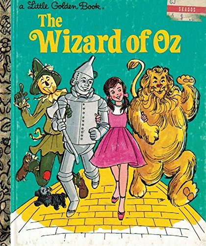 9780307000736: The Wizard of Oz (Little Golden Book)