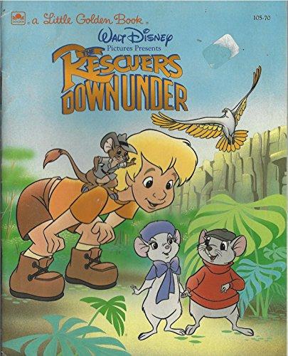 9780307000828: The Rescuers Down Under (Little Golden Book)