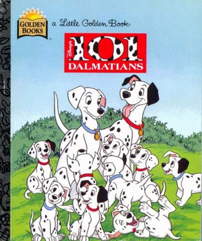 9780307001160: 101 Dalmatians (Walt Disney's Classics) (Little Golden Books)