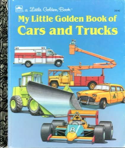 9780307002105: My Little Golden Book of Cars and Trucks