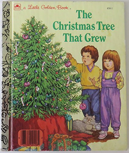 9780307004581: The Christmas Tree That Grew (Little Golden Book)