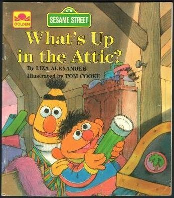 9780307010087: Sesame Street: Up in the Attic (Little Golden Book)