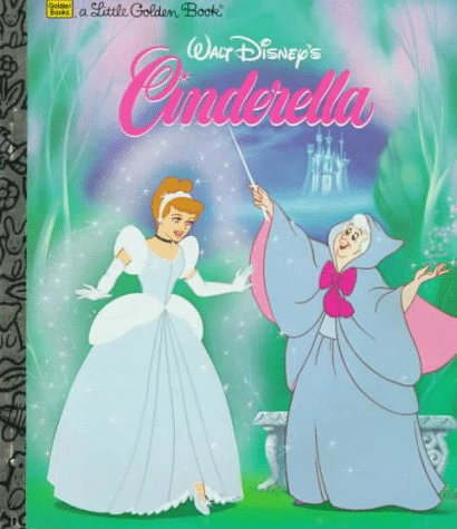 Walt Disney's Little Little Golden Book CINDERELLA: Disney