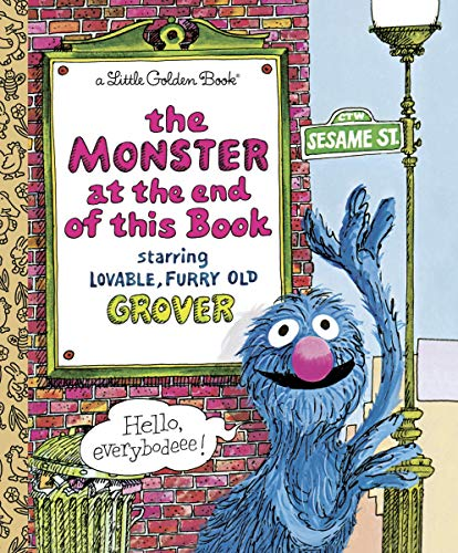 9780307010858: Monster at the End of the Book (Little Golden Books)