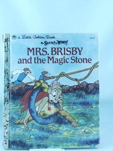Mrs. Brisby and the Magic Stone (The Secret of NIMH) (Little Golden Book): Ingoglia, Gina