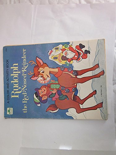 9780307011183: Rudolph the Red Nosed Reindeer (A Big Color / Activity Book)
