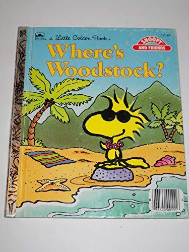 Where's Woodstock? (A Little golden book): Margo Lundell