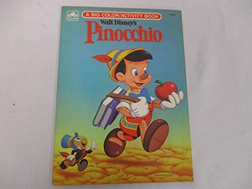 Walt Disney\'s Pinocchio (A Big Coloring Book): Golden Pr ...
