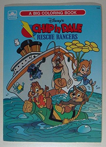 9780307012661: Disney\'s Chip \'n Dale Rescue Rangers (A Big Coloring ...