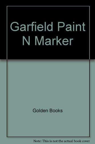 9780307015730: Garfield Paint N Marker