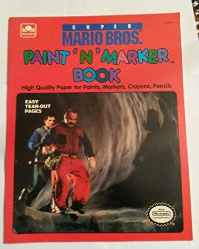 9780307015983: Super Mario Bros. (Paint 'n' Marker Books)