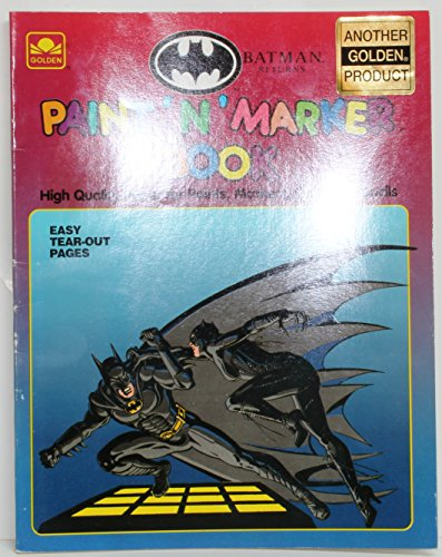 Batman Paint 'n Marker Book: Golden Books