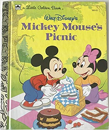A Little Golden Book: Mickey Mouse's Picnic: Walt Disney's 100-55