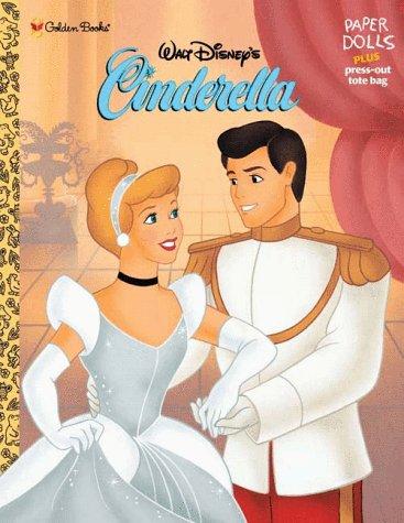 9780307020086: Walt Disney's Cinderella: Paper Dolls Plus Pres-Out Tote Bag