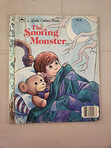 The snoring monster (A Little Golden book) (030702010X) by David Lee Harrison
