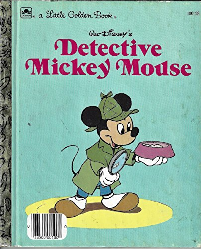9780307020369: Walt Disney's Detective Mickey Mouse (A Little Golden Book)