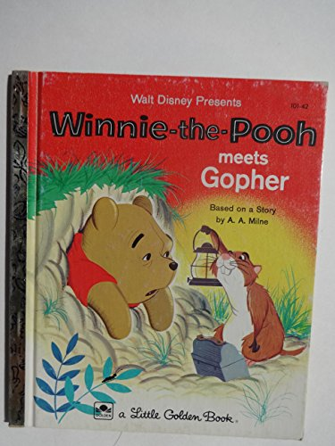9780307020390: Winnie the Pooh Meets Gopher (Winnie the Pooh, Meets Gopher)