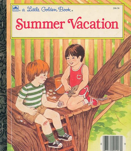 9780307020451: Summer vacation (A Little golden book)