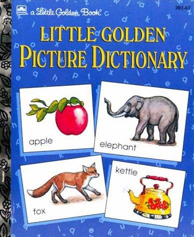 9780307020550: Little Golden Picture Dictionary (Little Golden Book)