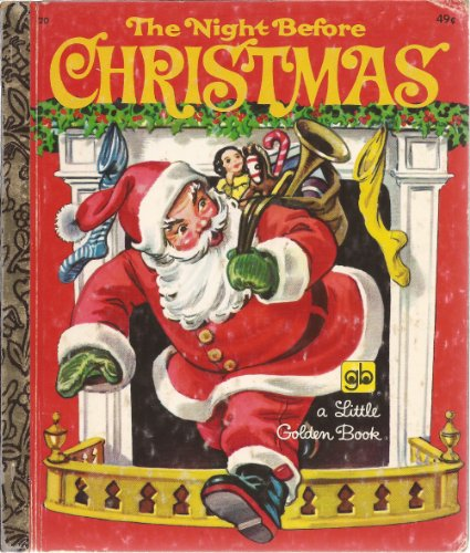 9780307020680: The Night Before Christmas (A Little Golden Book)