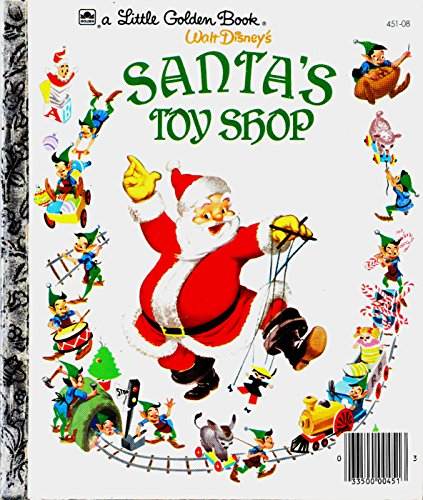 9780307020703: Santa's Toy Shop (Little Golden Book)