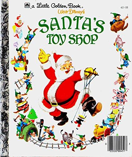 9780307020703: Santa's Toy Shop (Little Golden Book)
