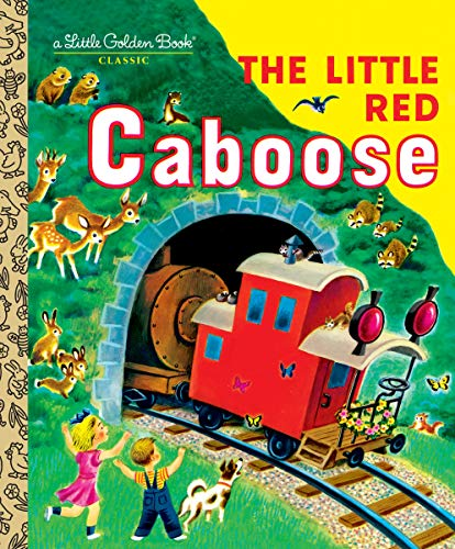 9780307021526: The Little Red Caboose (Little Golden Books)