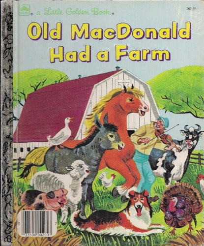 9780307021601: Old Macdonald Had A Farm (A Little Golden Book)