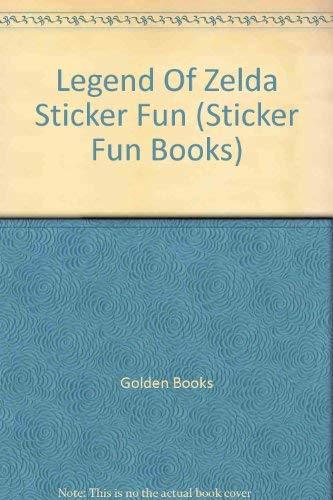 9780307022806: Legend Of Zelda Sticker Fun (Sticker Fun Books)