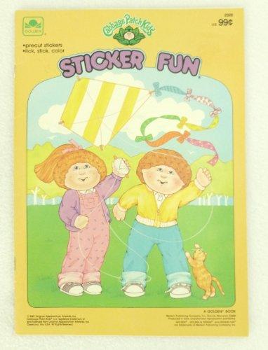 9780307023285: Cabbage Patch Sticker Fun (Sticker Fun Books)