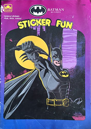 Batman Sticker Fun Book: Golden Books
