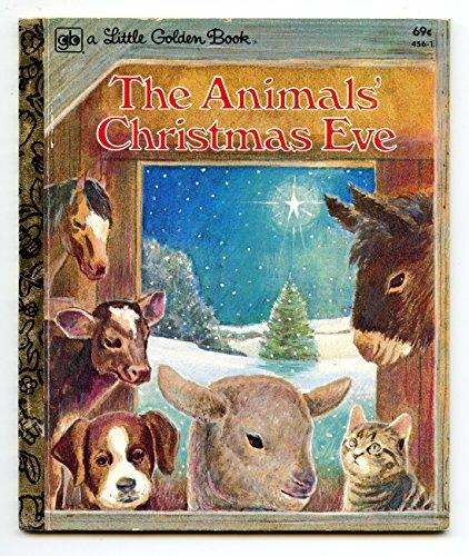 The Animal's Christmas Eve: Golden Books