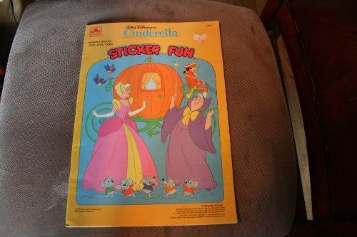 Walt Disney's Cinderella Giant Sticker Fun