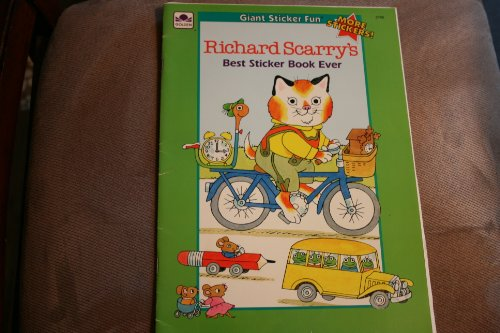 9780307027689: Richard Scarry (Sticker Time)