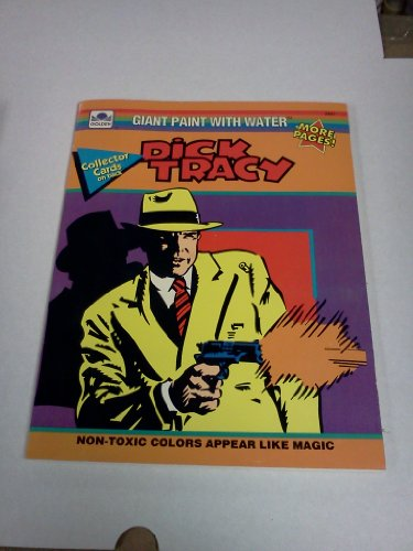 Giant Paint with Water: Dick Tracy