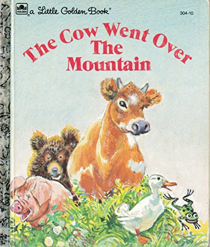 9780307030450: Cow Went Over the Mountain (Little Golden Books)
