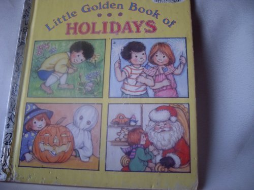 The Little Golden Book of Holidays (0307031152) by Lewis, Jean