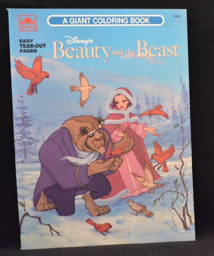 9780307033284: Disney's Beauty and the Beast: A Giant Coloring Book