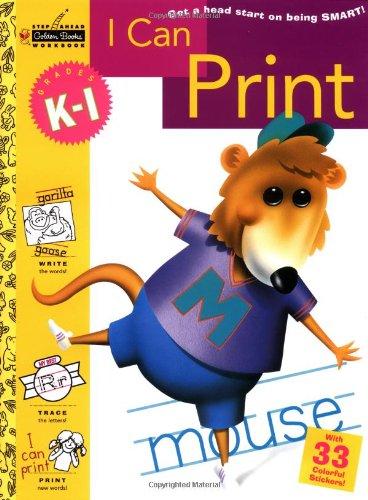 9780307035547: I Can Print (Grades K - 1) (Step Ahead)