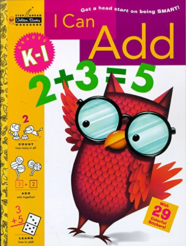 9780307035905: I Can Add (Grades K - 1) (Step Ahead)