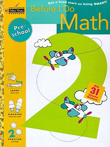 9780307035974: Before I Do Math (Preschool)