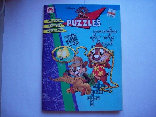 9780307036315: Chip N Dale Rescue Rangers Puzzles