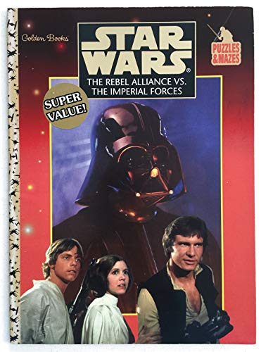 Star Wars: The Rebel Alliance Vs The Imperial Forces Puzzles & Mazes